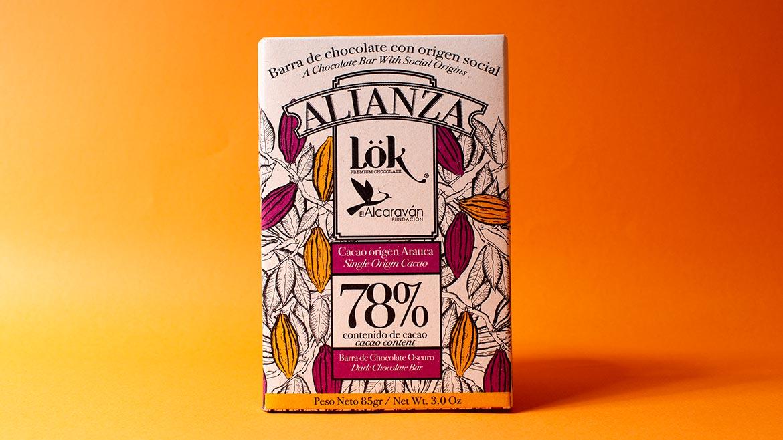 78% Alianza Cacao Content Dark Chocolate Bar